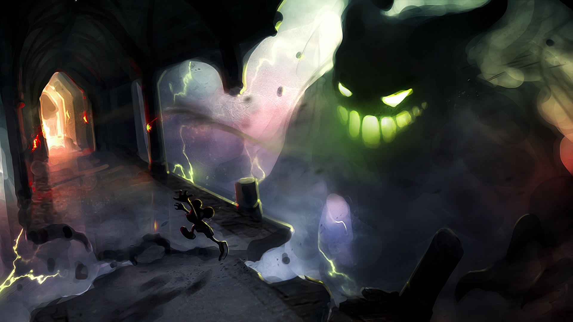 Epic Mickey Full HD Wallpaper And Background Image
