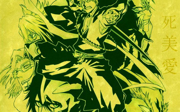 Anime Bleach Ichigo Kurosaki Grimmjow Jaegerjaquez Szayelaporro Granz Tier Halibel Yammy Llargo HD Wallpaper   Background Image