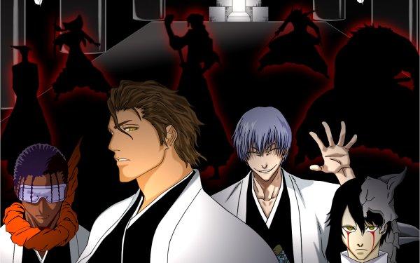 Anime Bleach Gin Ichimaru Ulquiorra Cifer Soifon Kaname Tosen Fondo de pantalla HD   Fondo de Escritorio