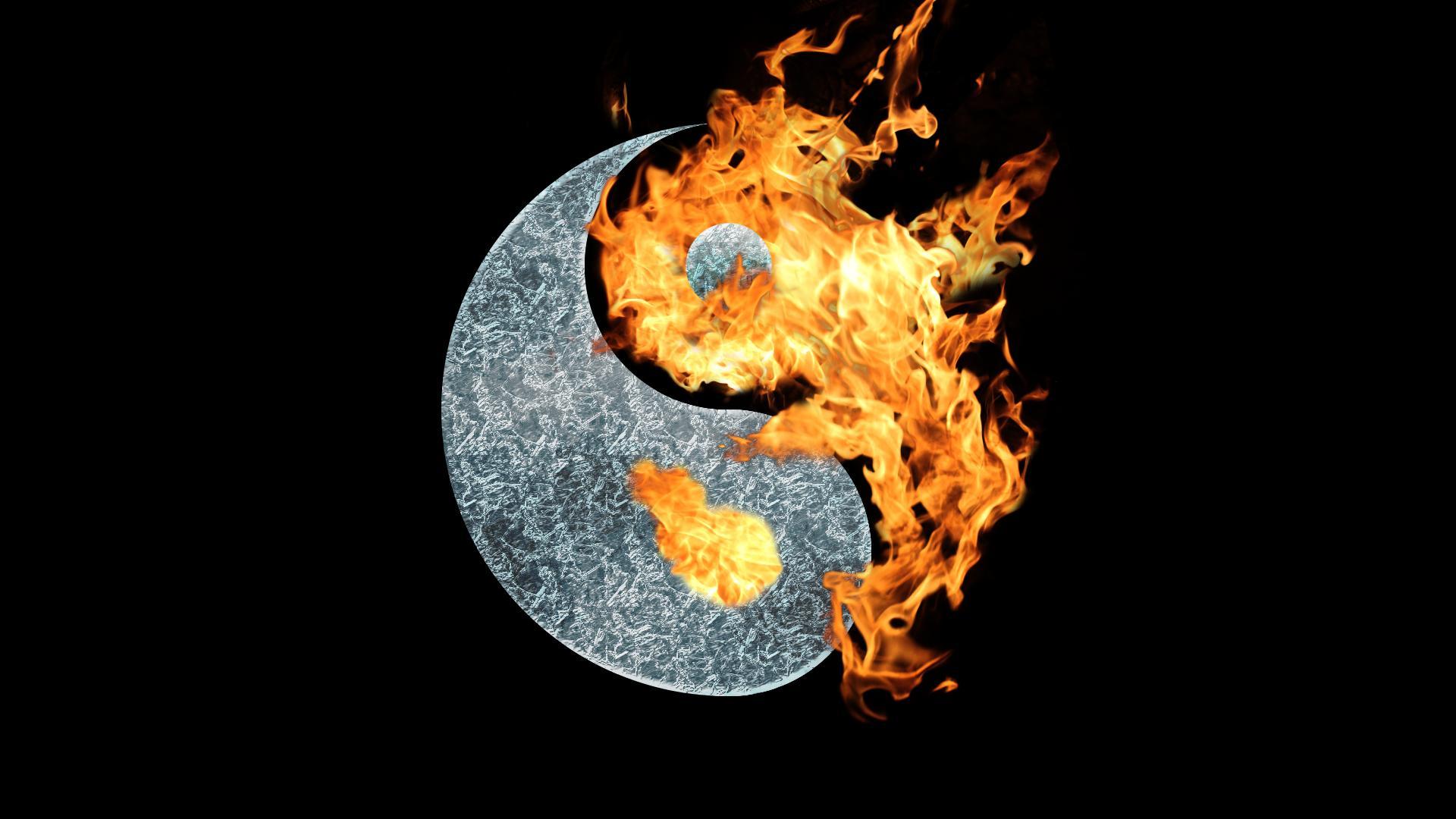 Yin yang iphone wallpaper - Artistic Oriental Yin Yang Wallpaper