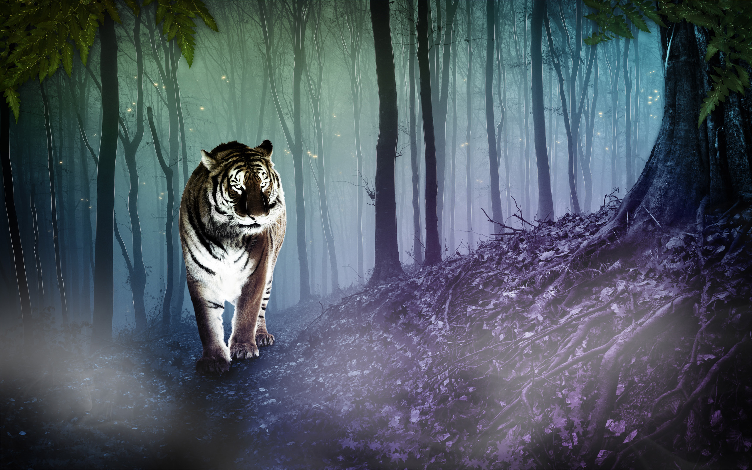 Artistic Tiger Full HD Wallpaper and Background ...
