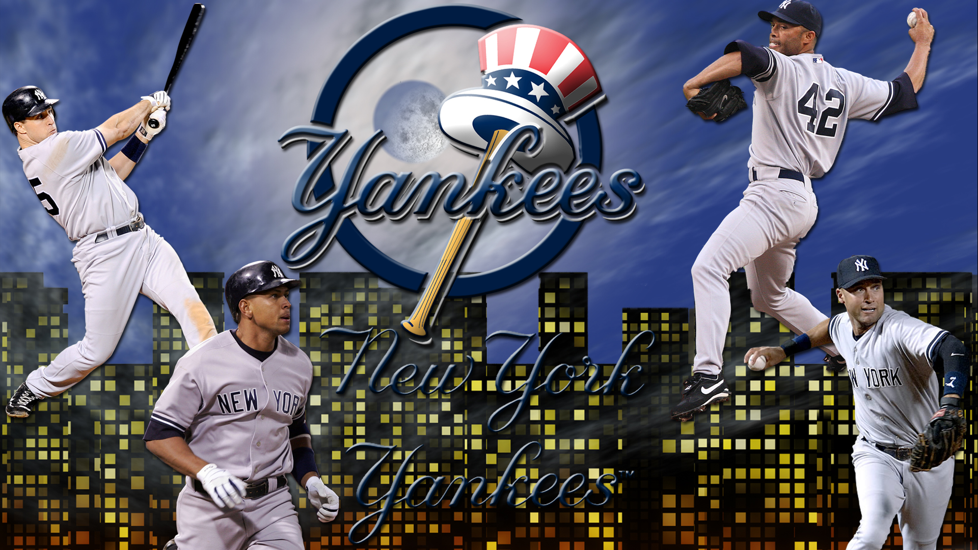 yankees iphone 4 wallpaper