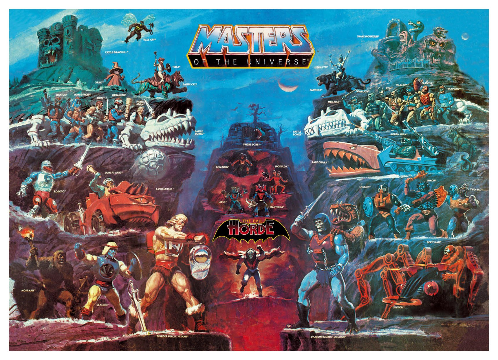 He Man And The Masters Of The Universe Wallpaper And Background