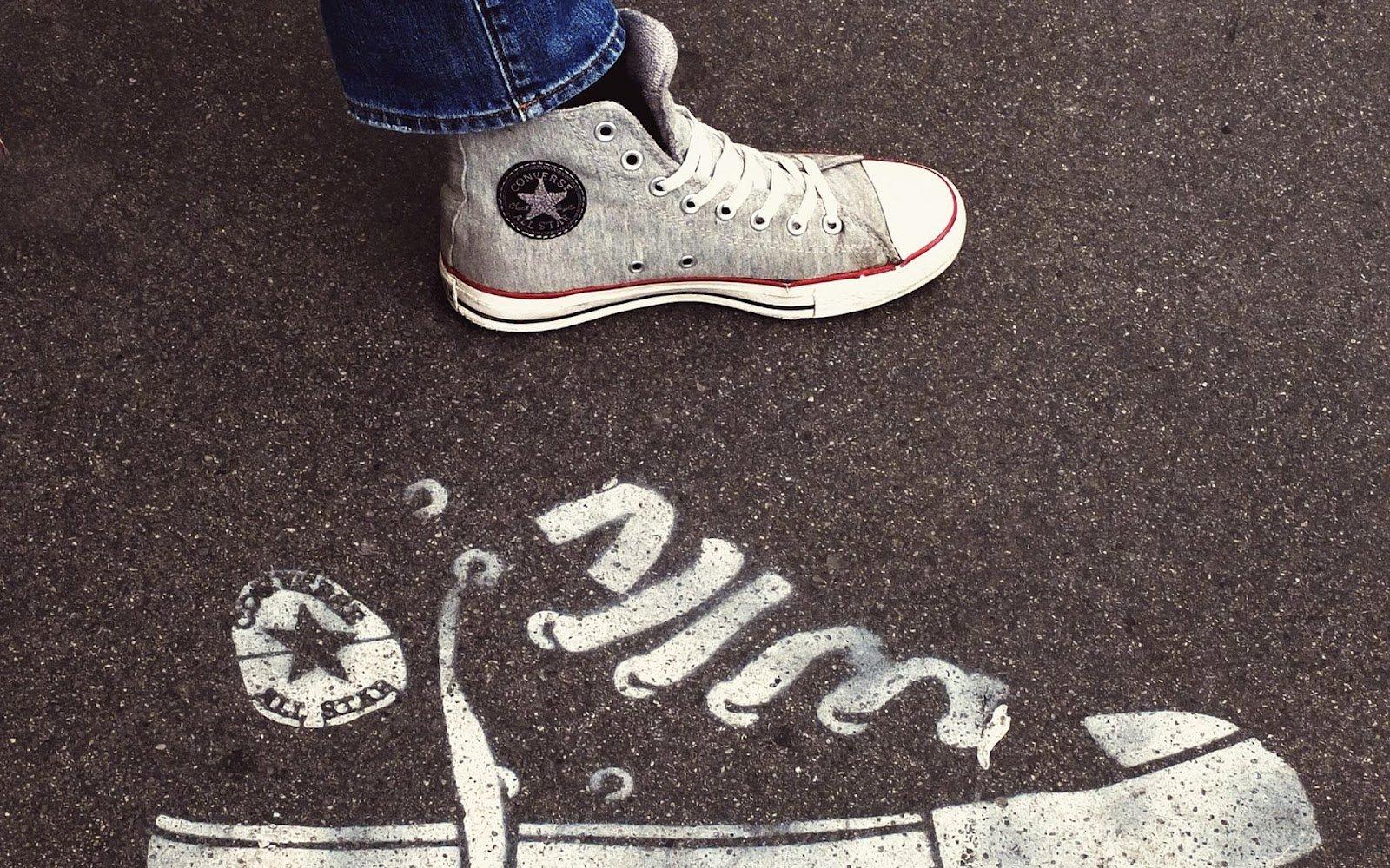 358eabd2360d Converse Shoe · HD Wallpaper