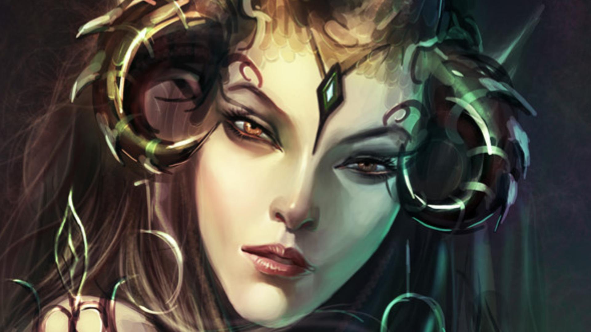 female demon wallpapers myspace - photo #3