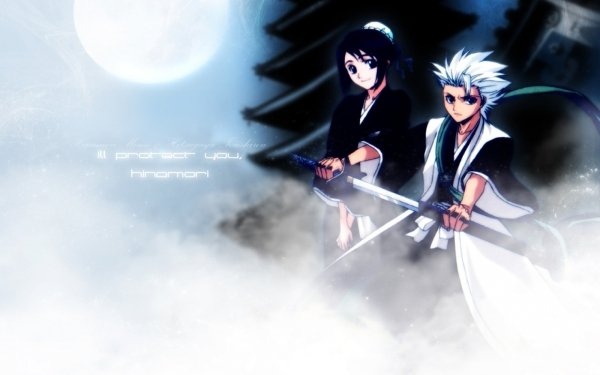 Anime Bleach Tōshirō Hitsugaya Momo Hinamori HD Wallpaper | Background Image