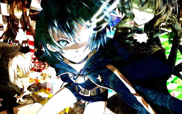 Anime Black Rock Shooter Black Gold Saw Strength Dead Master HD Wallpaper | Background Image
