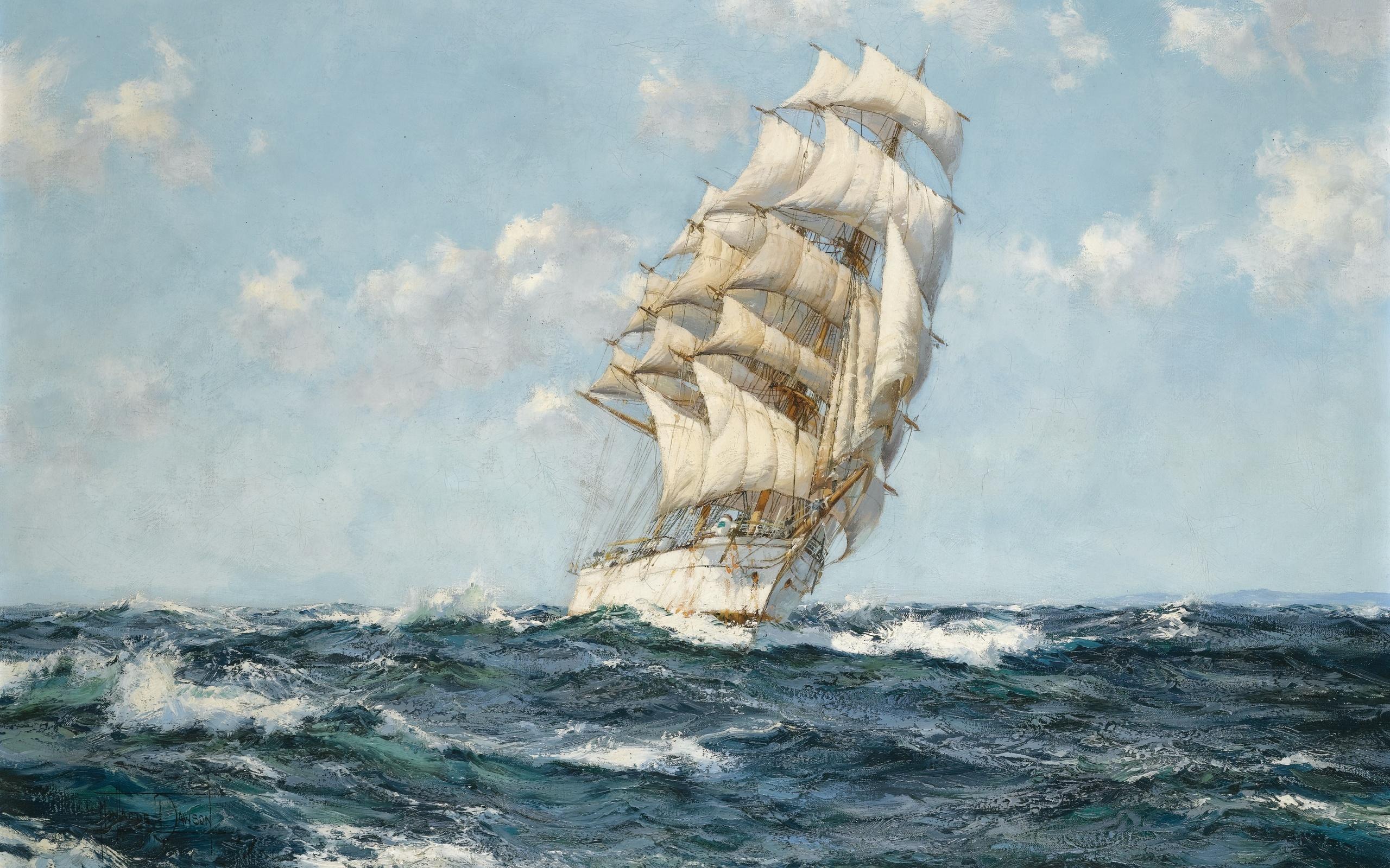 8 Sailing Ship HD Wallpapers
