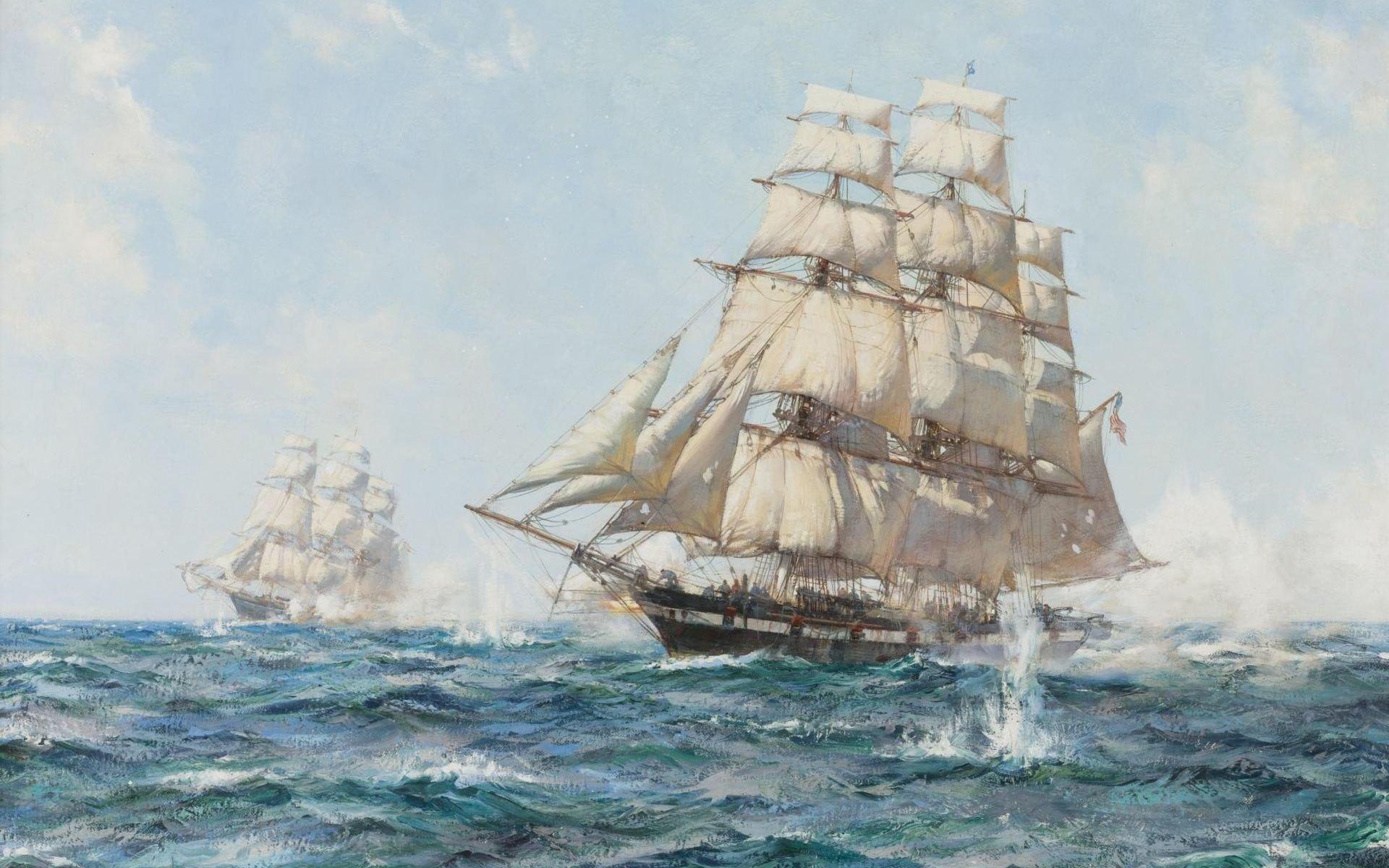 Sailing Ship Full HD Wallpaper and Background Image ...