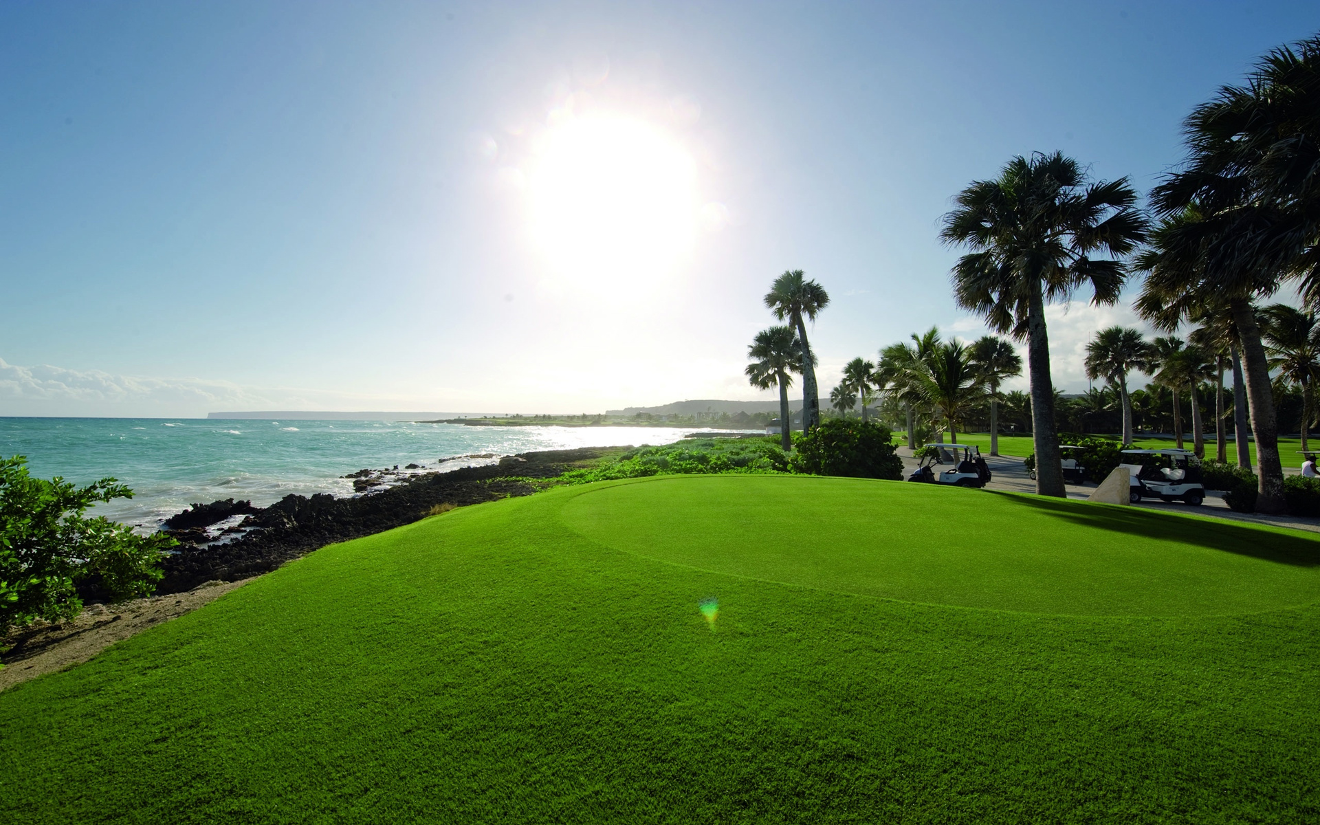 Golf course hd wallpaper background image 1920x1200 id 356083 wallpaper abyss - Golf wallpaper hd ...