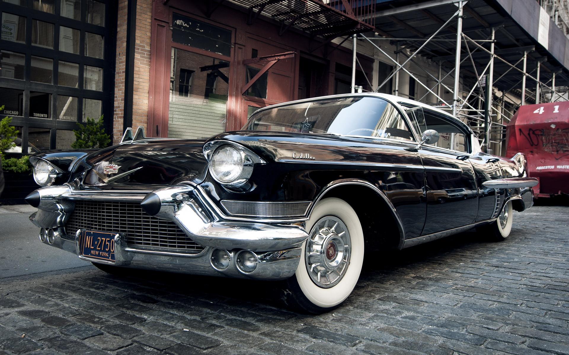 1957 Cadillac Sedan Full HD Wallpaper And Background Image