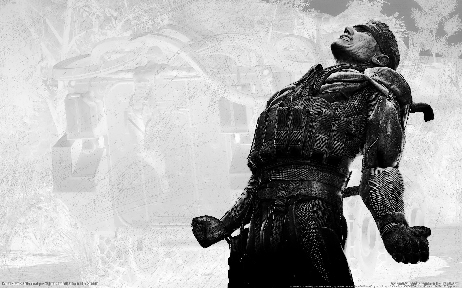 metal gear solid 4 guns of the patriots hd wallpaper background