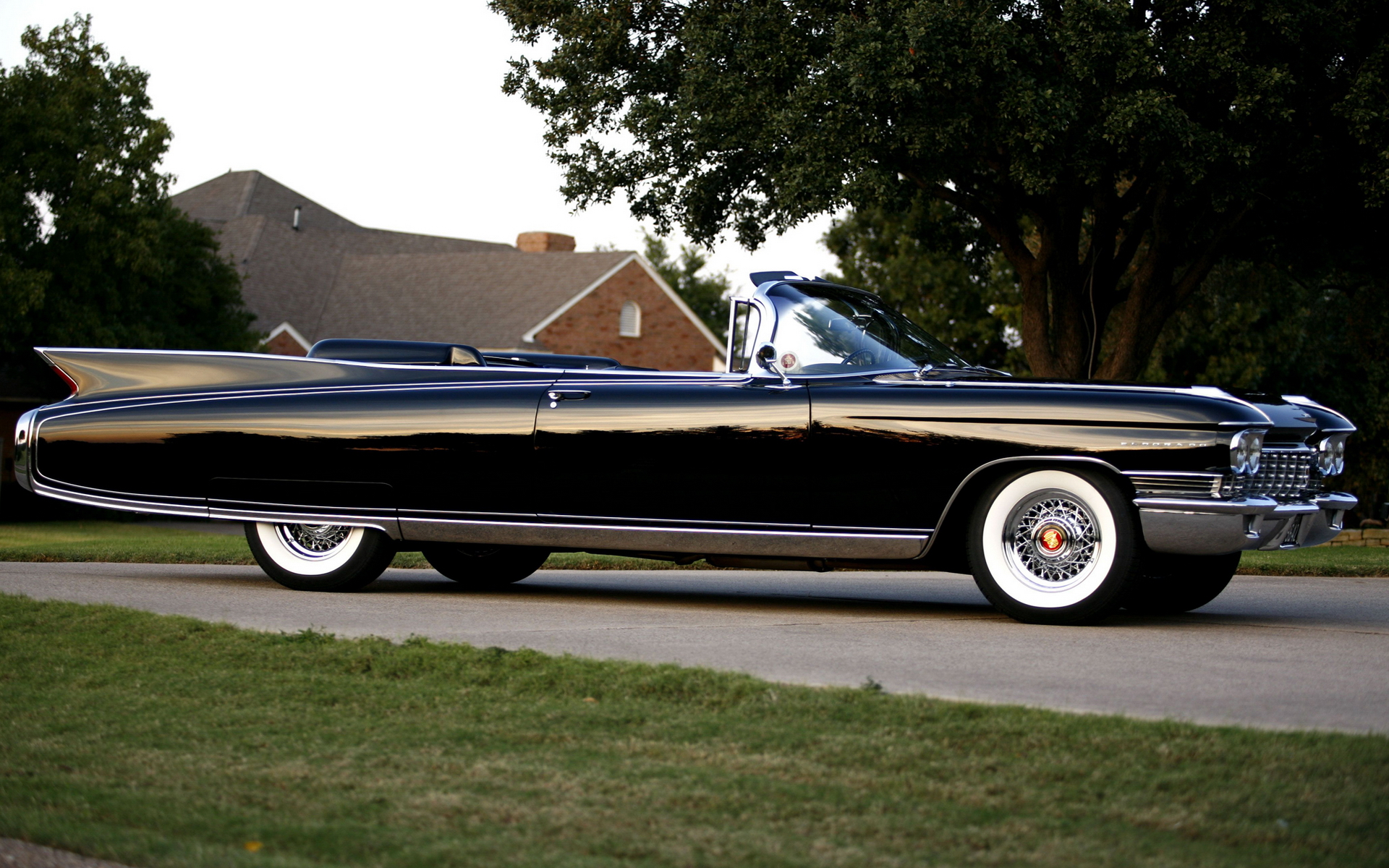 1960 Cadillac Eldorado Convertible Full HD Wallpaper and Background