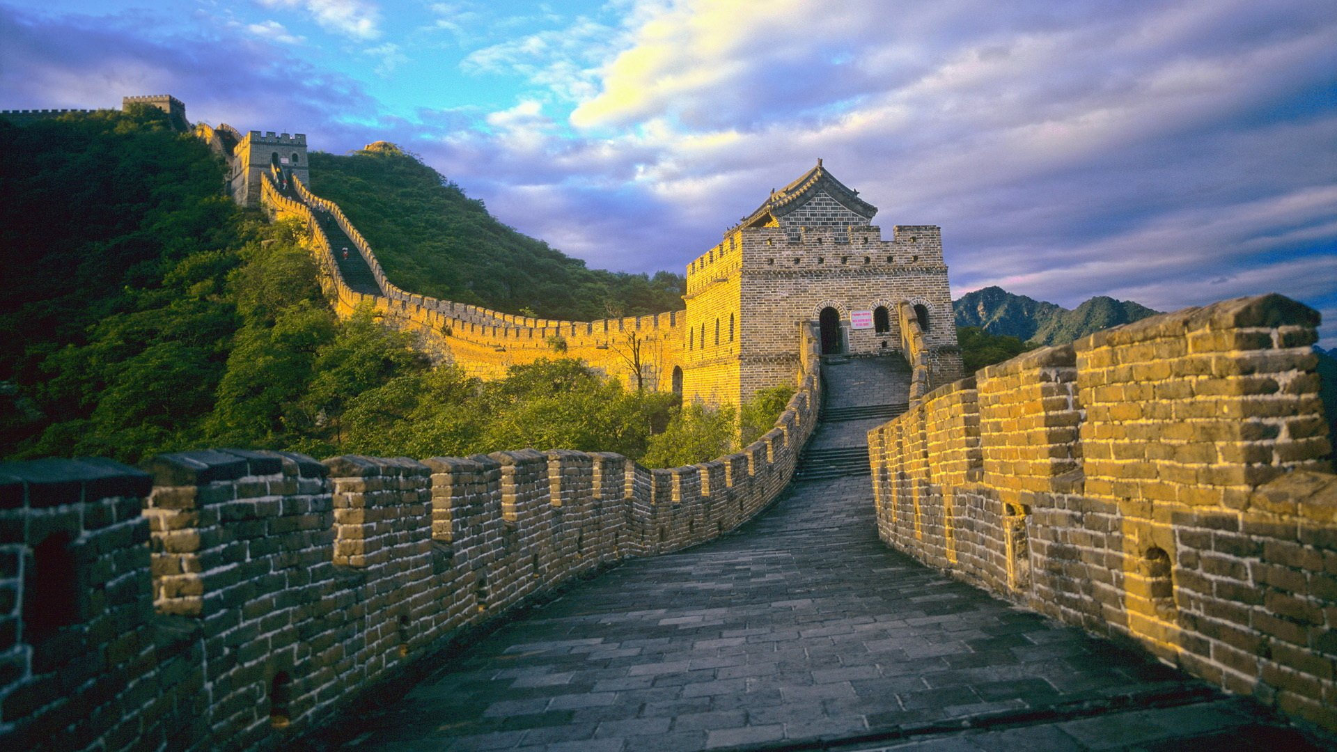 Great Wall Of China Hd Wallpaper Background Image 1920x1080 Id