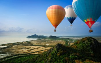 Vehicles - Hot Air Balloon Wallpapers and Backgrounds ID : 357870