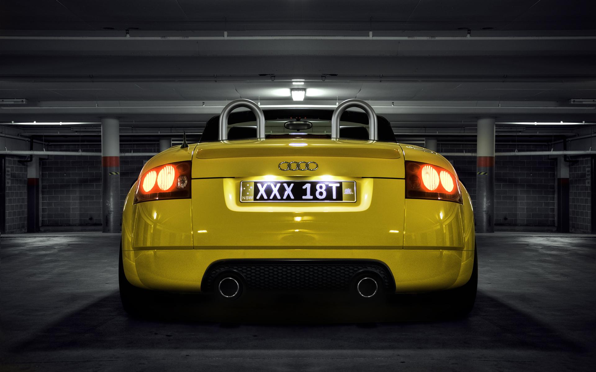 Audi Tt Mk1 Fondo De Pantalla Hd Fondo De Escritorio