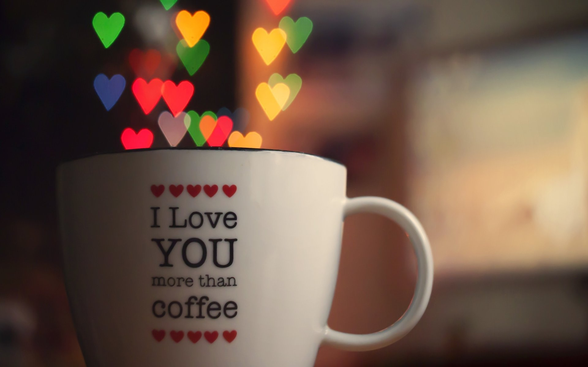 Man Made - Cup  Love Romantic Heart Wallpaper