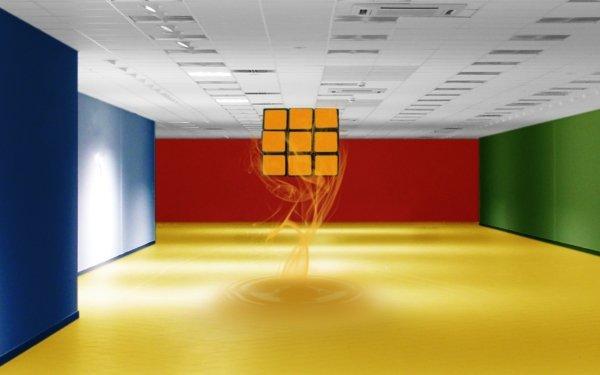 Artistic Cube Rubik's Cube HD Wallpaper | Background Image