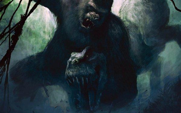 Fantaisie King Kong Fond d'écran HD | Image