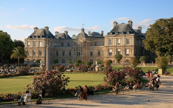 Man Made Luxembourg Palace Palaces France HD Wallpaper   Background Image