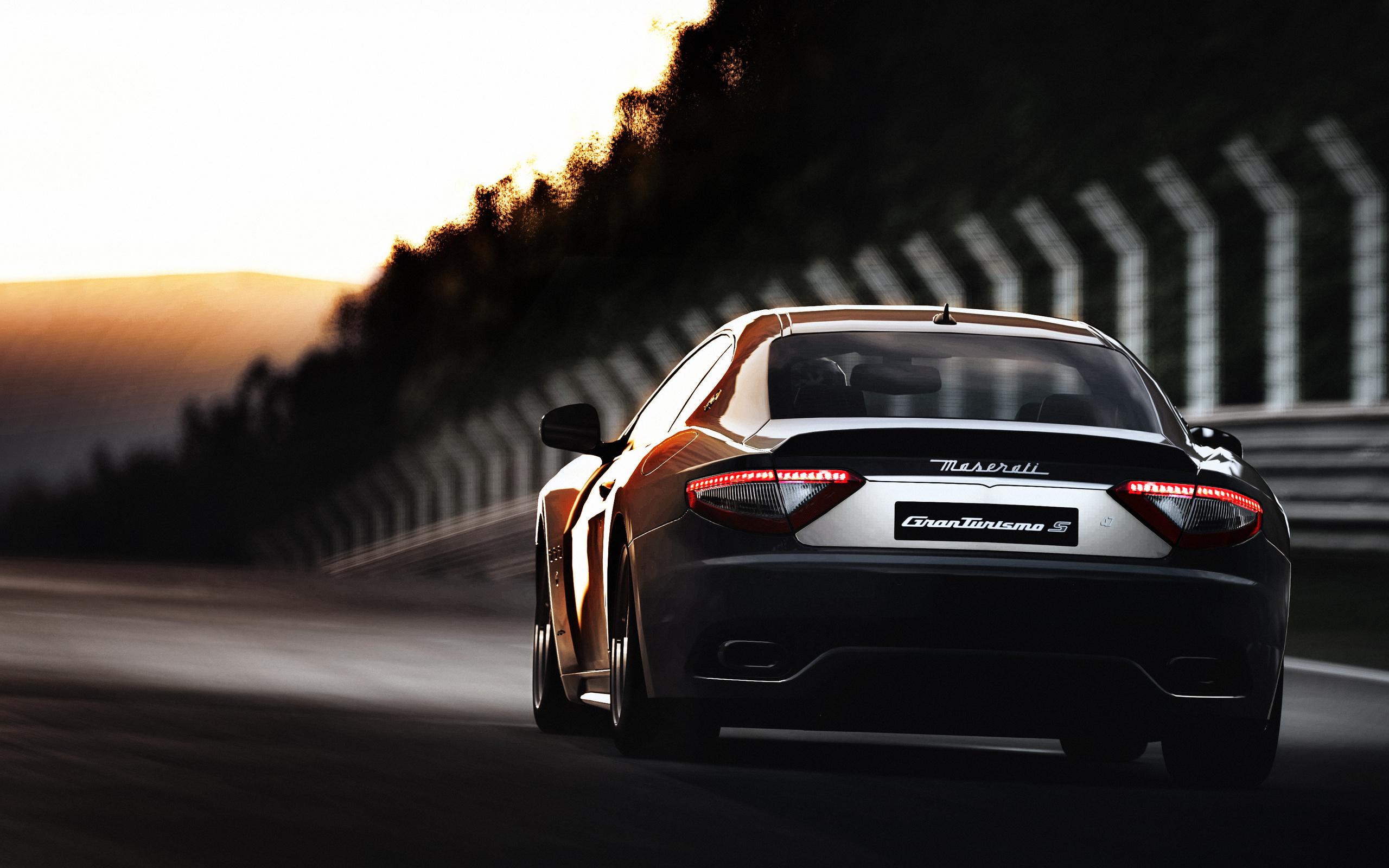 Maserati Granturismo Hd Wallpaper Background Image 2560x1600