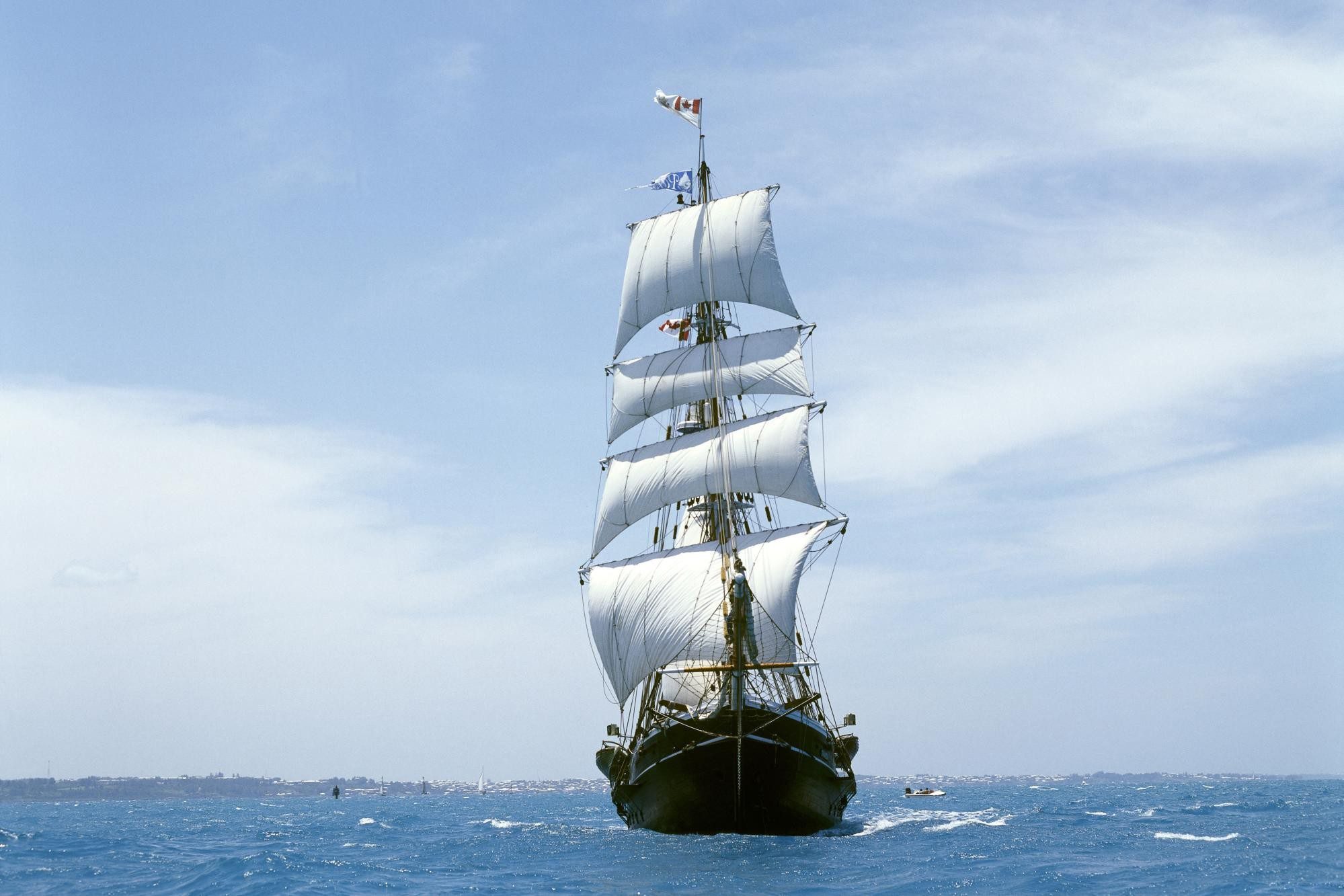 Sailing Ship Full HD Wallpaper And Background Image