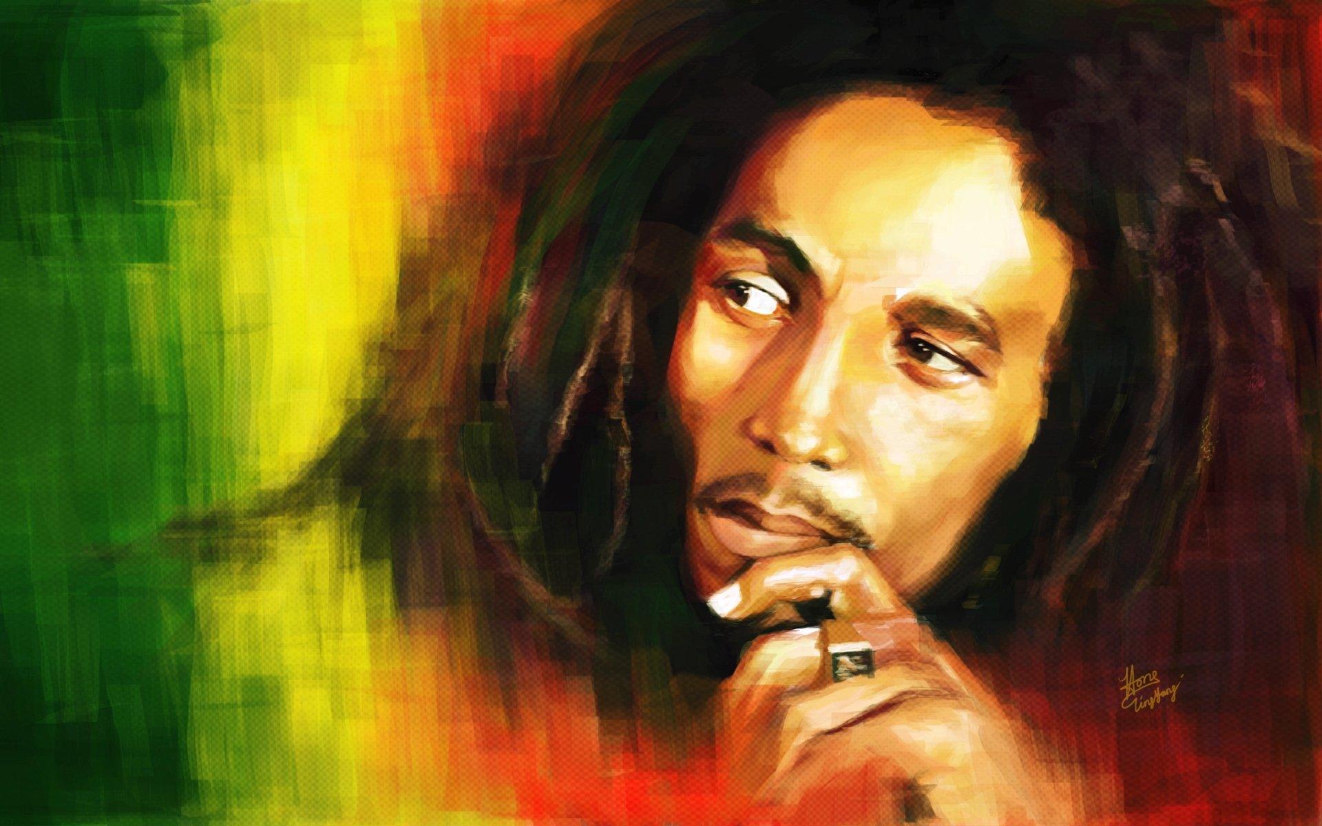 Music - Bob Marley  Wallpaper