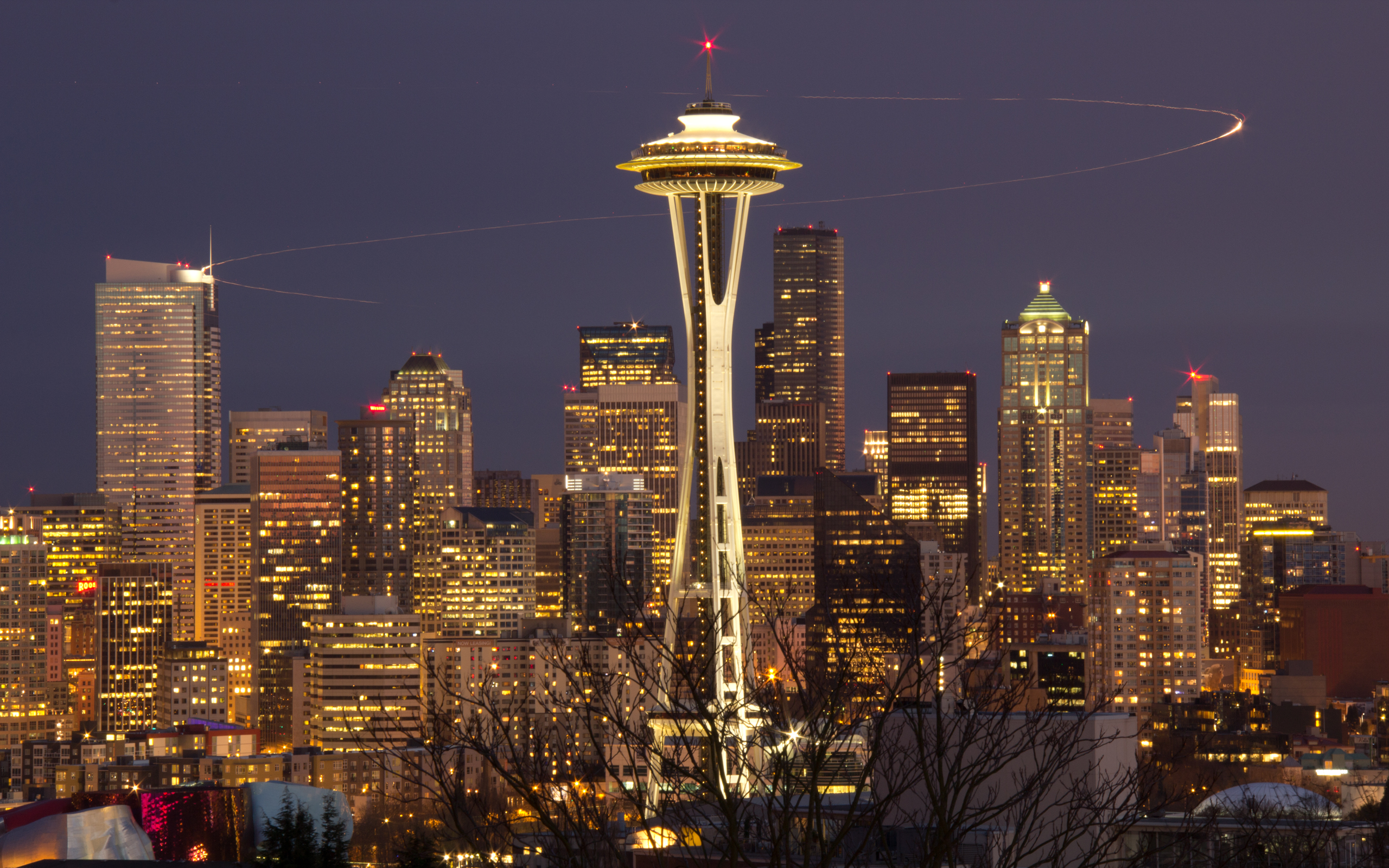 Seattle Full HD Wallpaper and Background