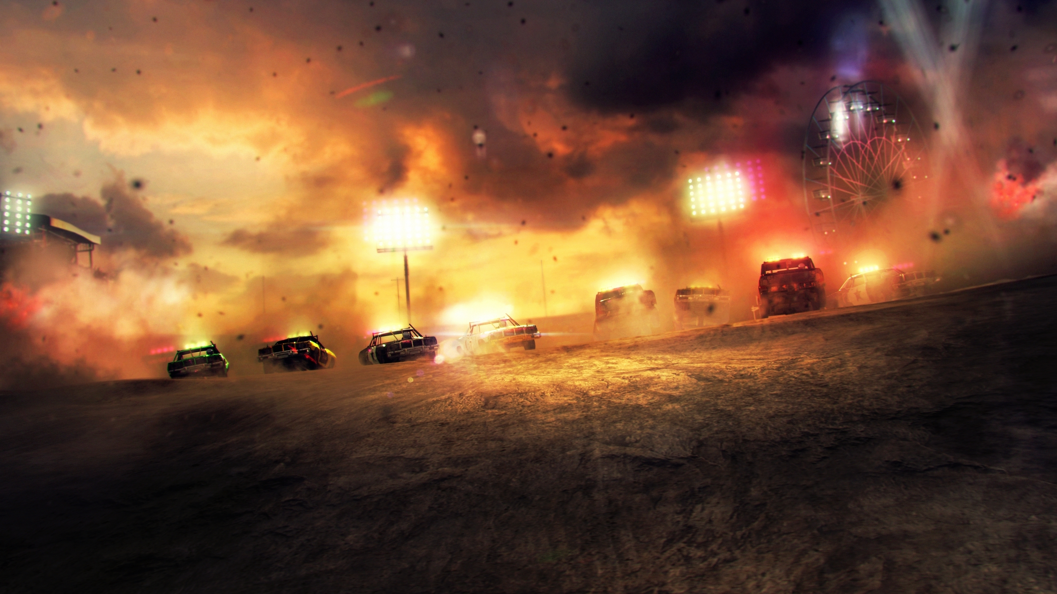 dirt: showdown full hd wallpaper and background image | 3556x2000