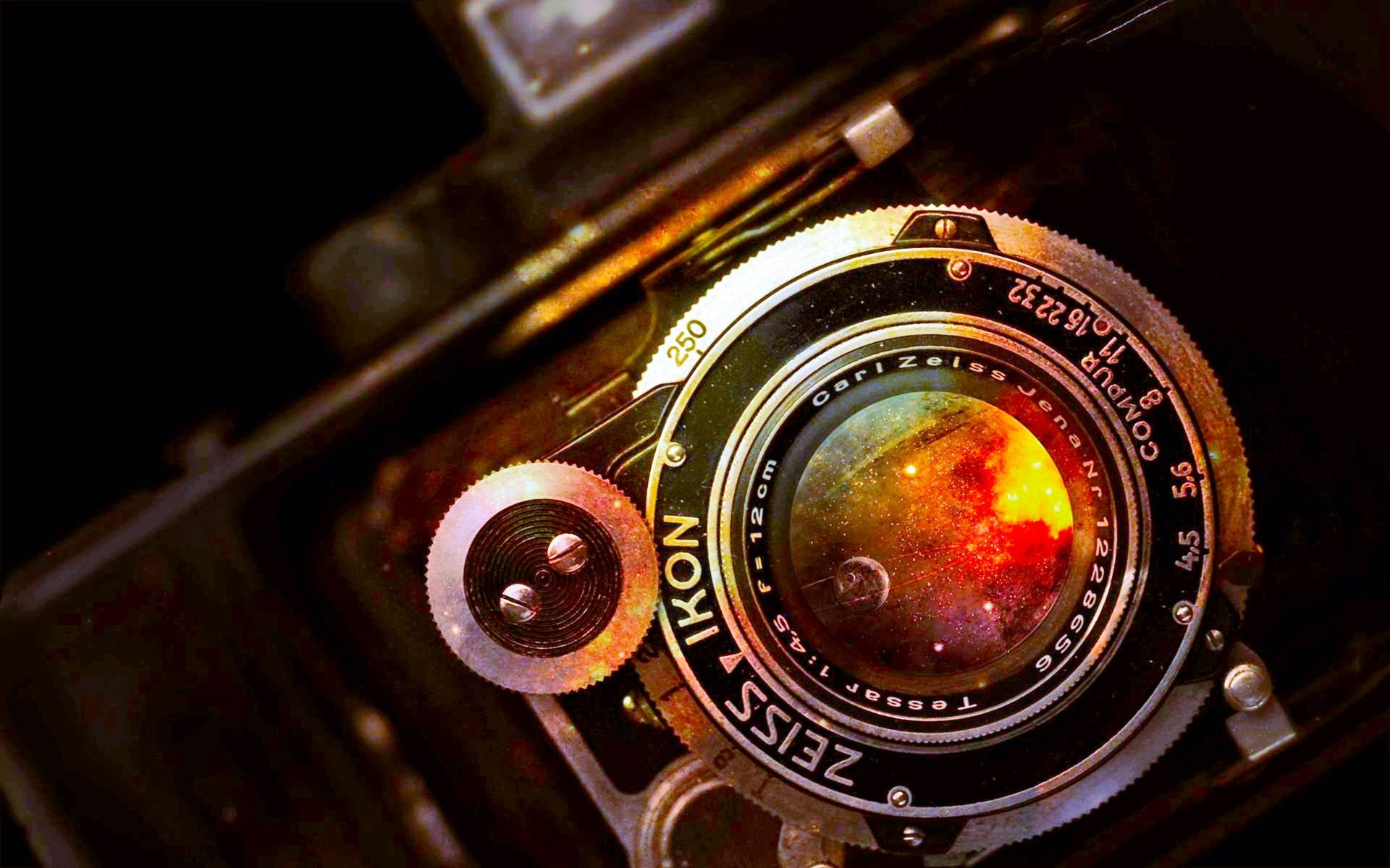 Man Made - Camera  Vintage Lens Carlzeiss Retro Wallpaper