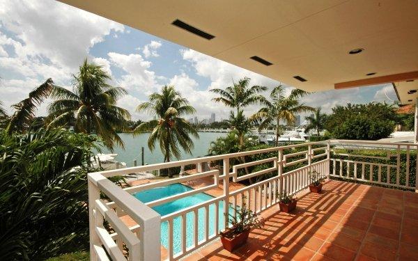 Man Made Balcony HD Wallpaper | Background Image