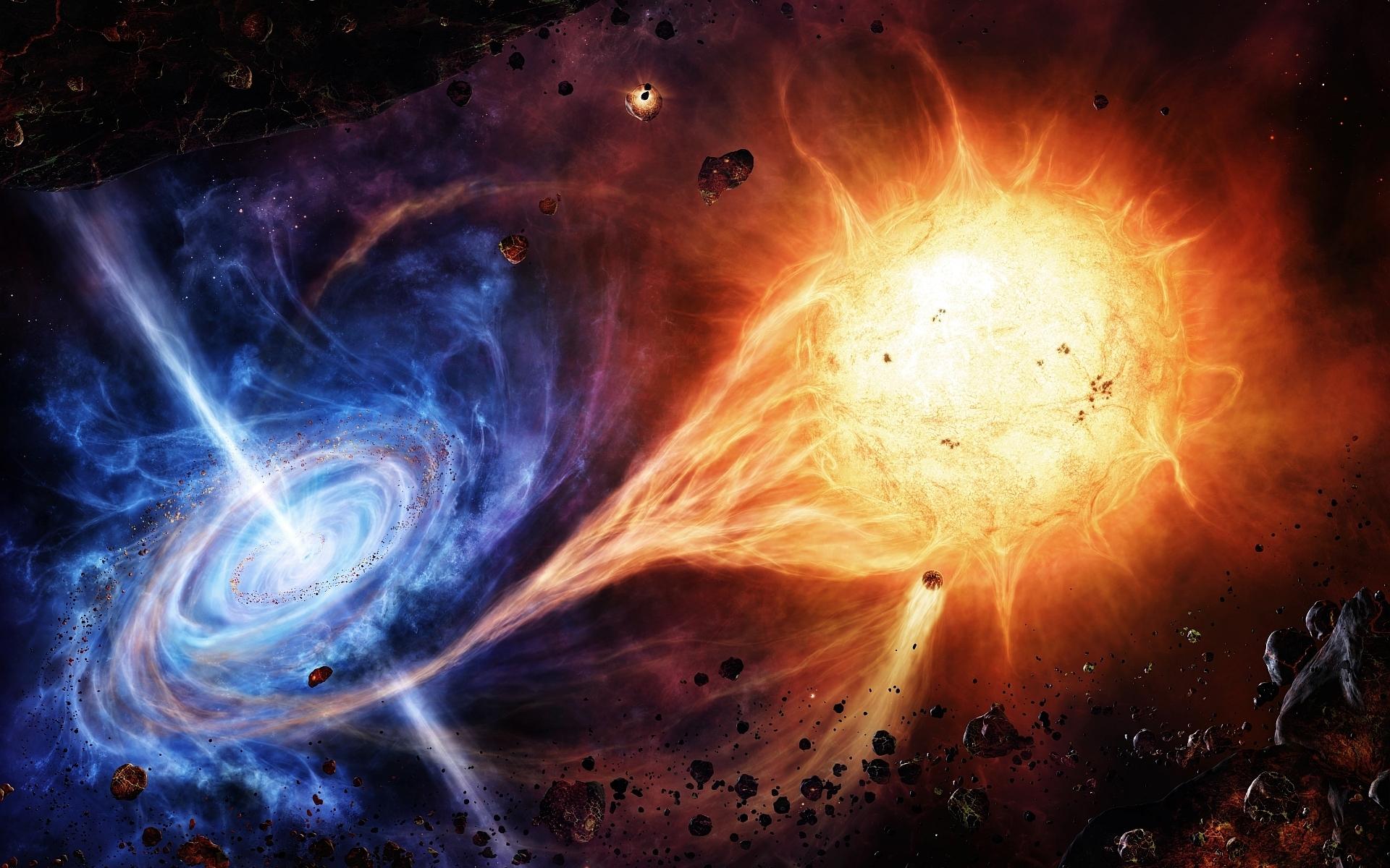 Quasar Wallpaper