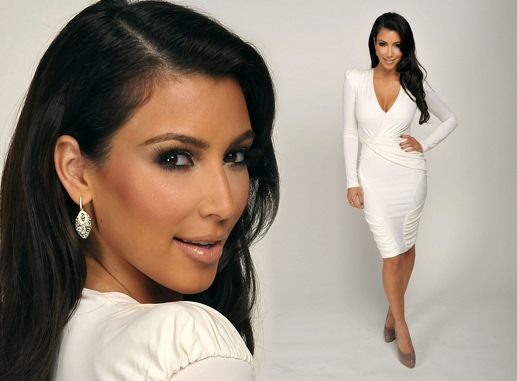 Kim Kardashian Wallpaper And Background Image 1755x1293