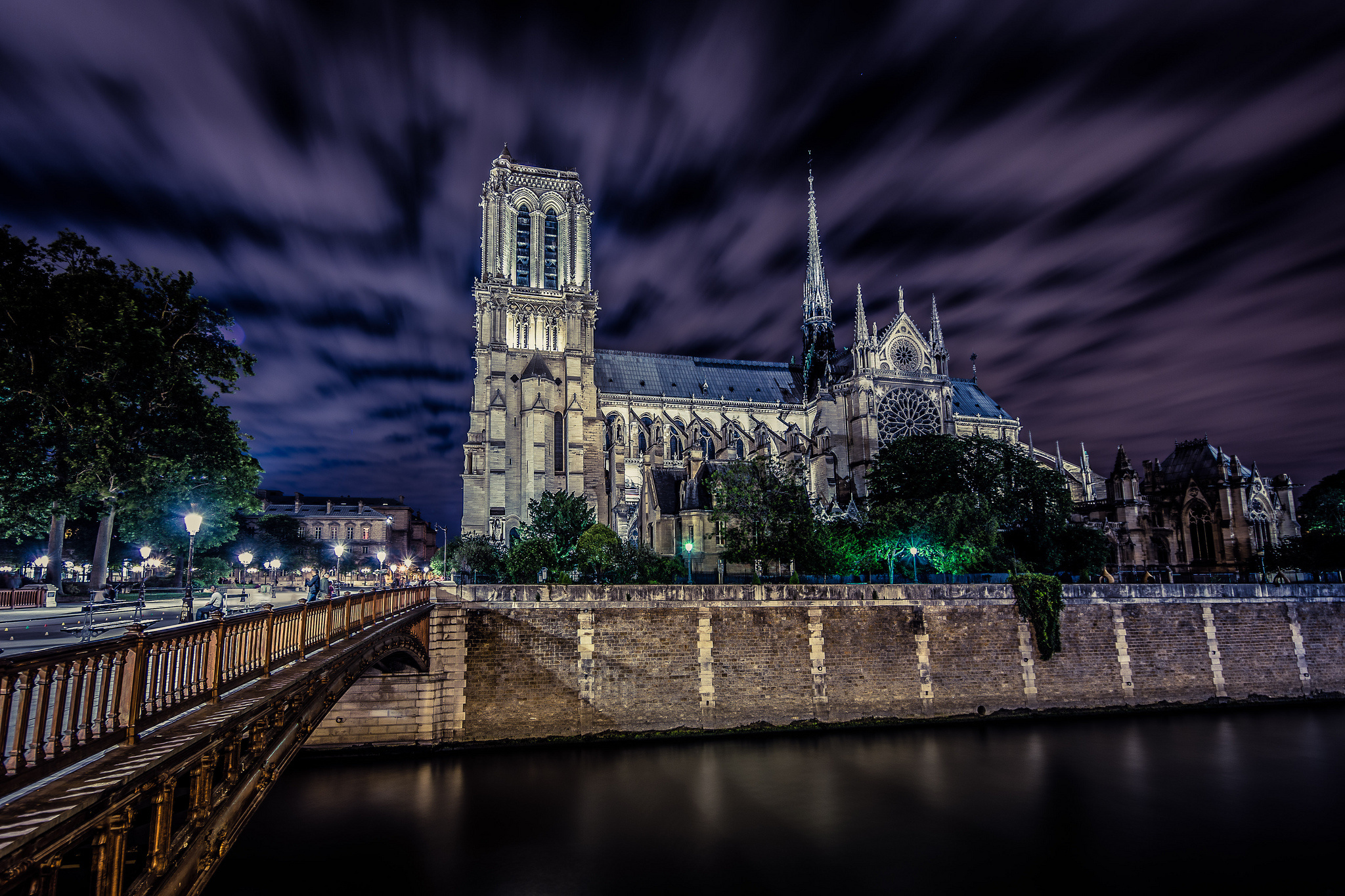 Notre Dame De Paris France Wallpapers