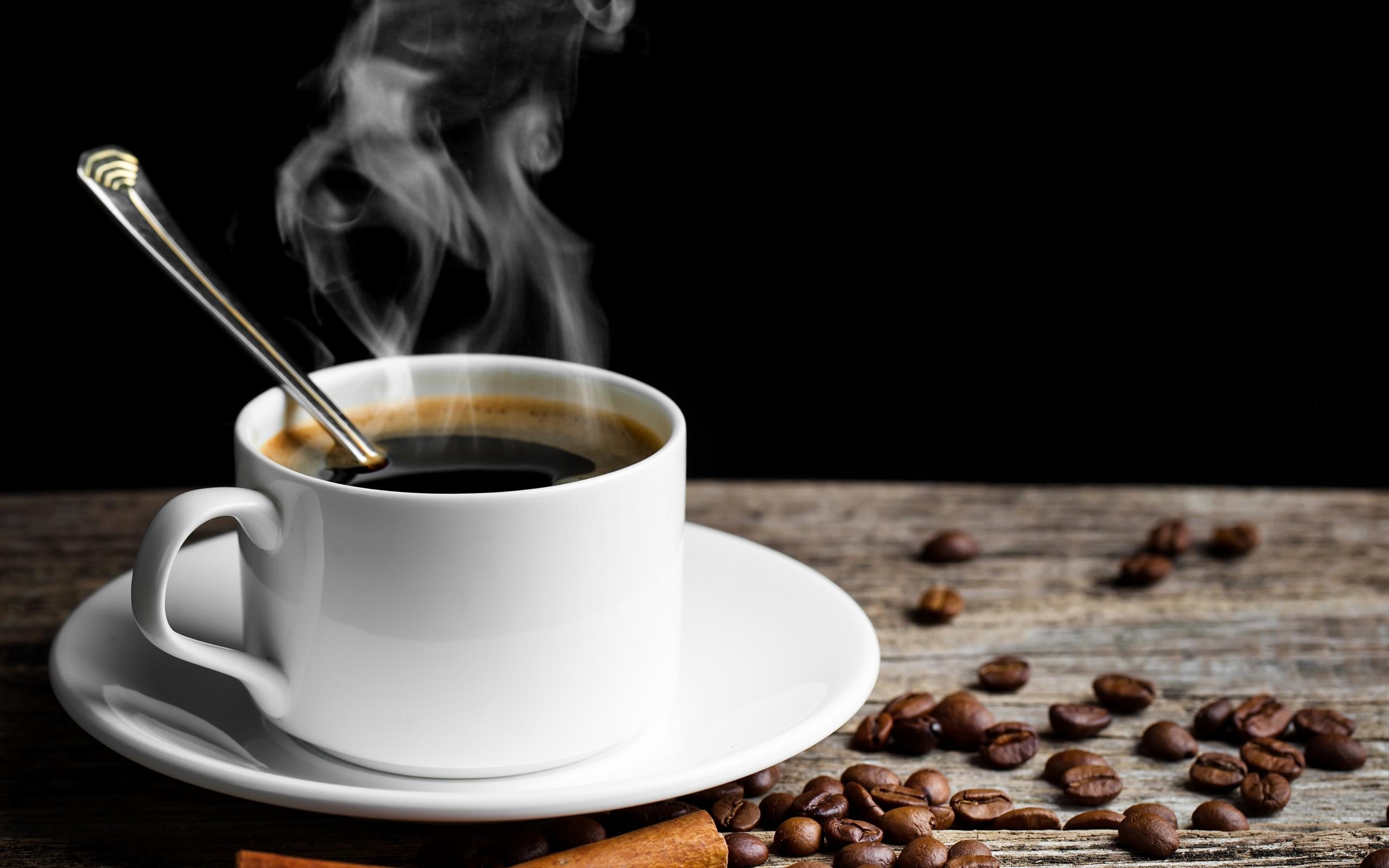 hot coffee white background - photo #19