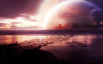 Sci Fi - Planet Rise Wallpapers and Backgrounds ID : 366236
