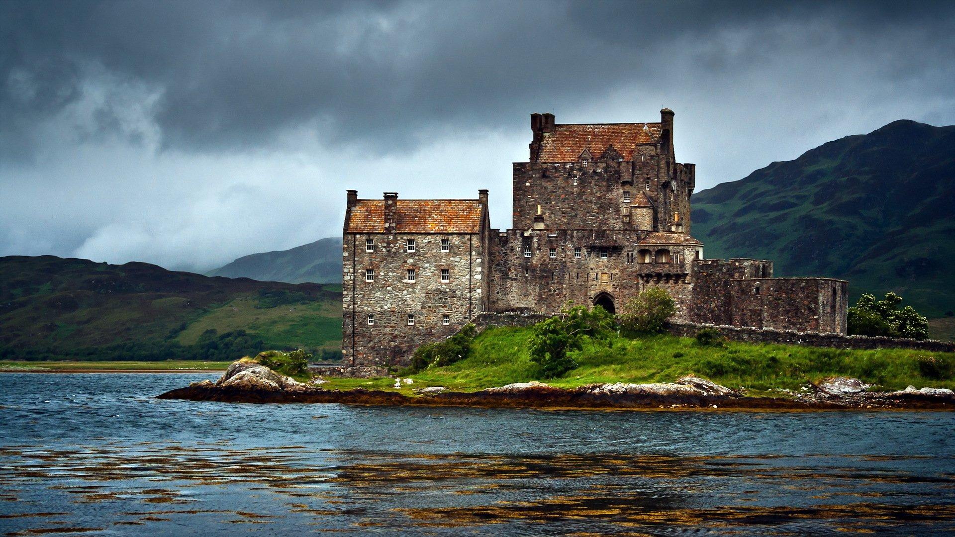 1366x768 eilean donan castle - photo #6