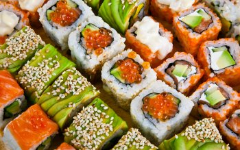Alimento - Sushi Wallpapers and Backgrounds ID : 368725