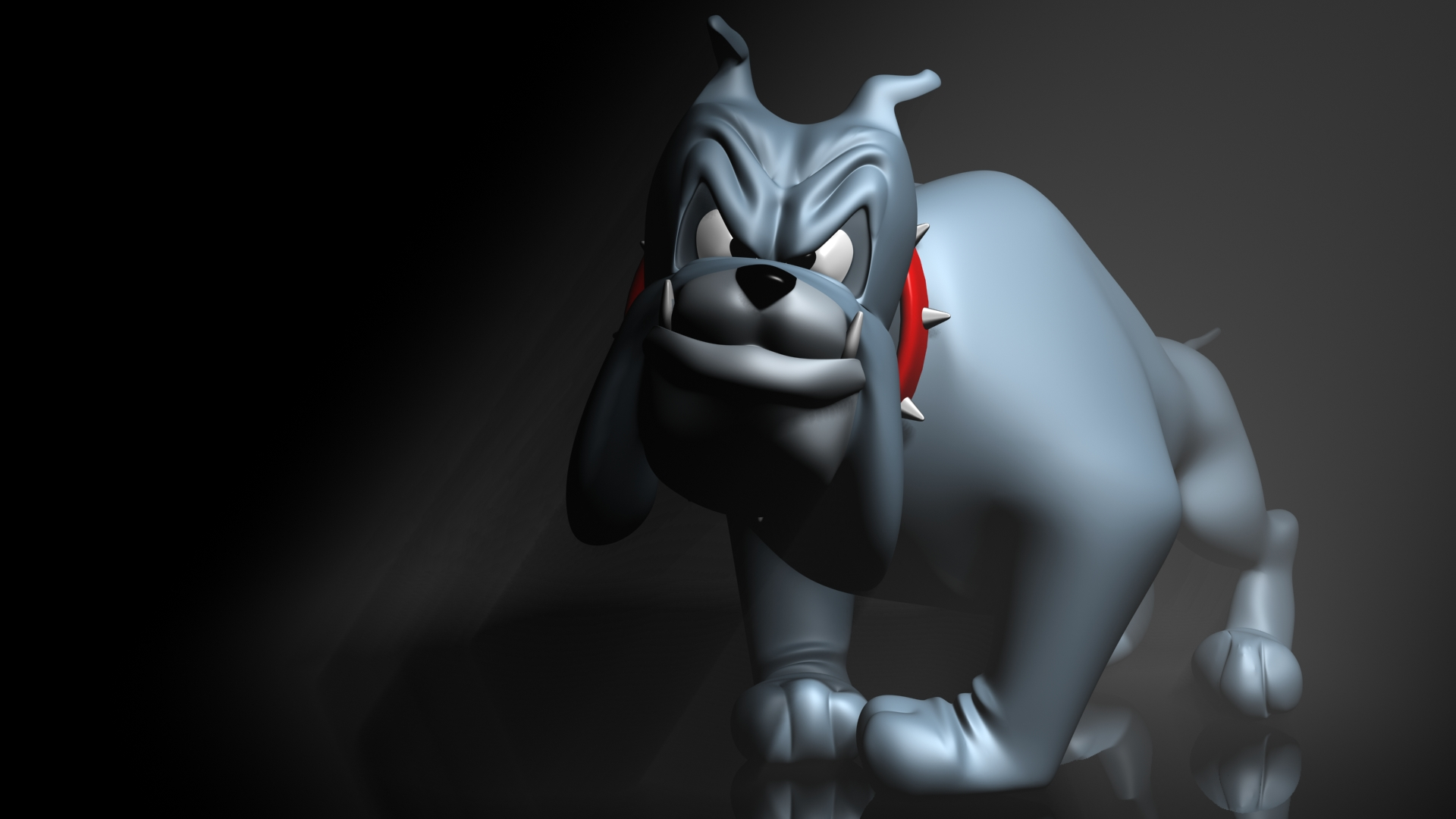 Cartoon bulldog 3d full hd wallpaper and background for Wallpapers 3d animados para pc