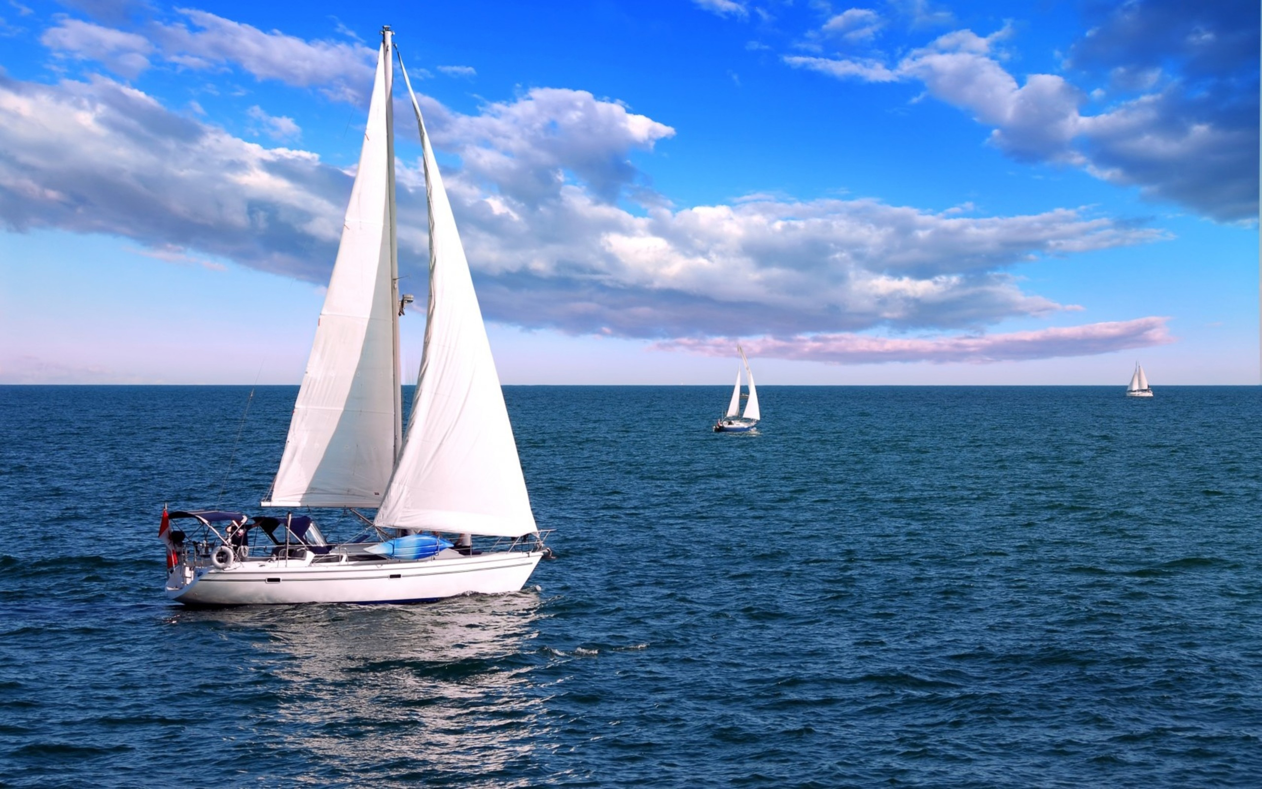 Sailboat Full HD Wallpaper and Background 2560x1600 ID369487