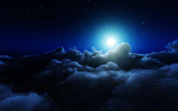 Oscuro Night Nube Fondo de pantalla HD | Fondo de Escritorio