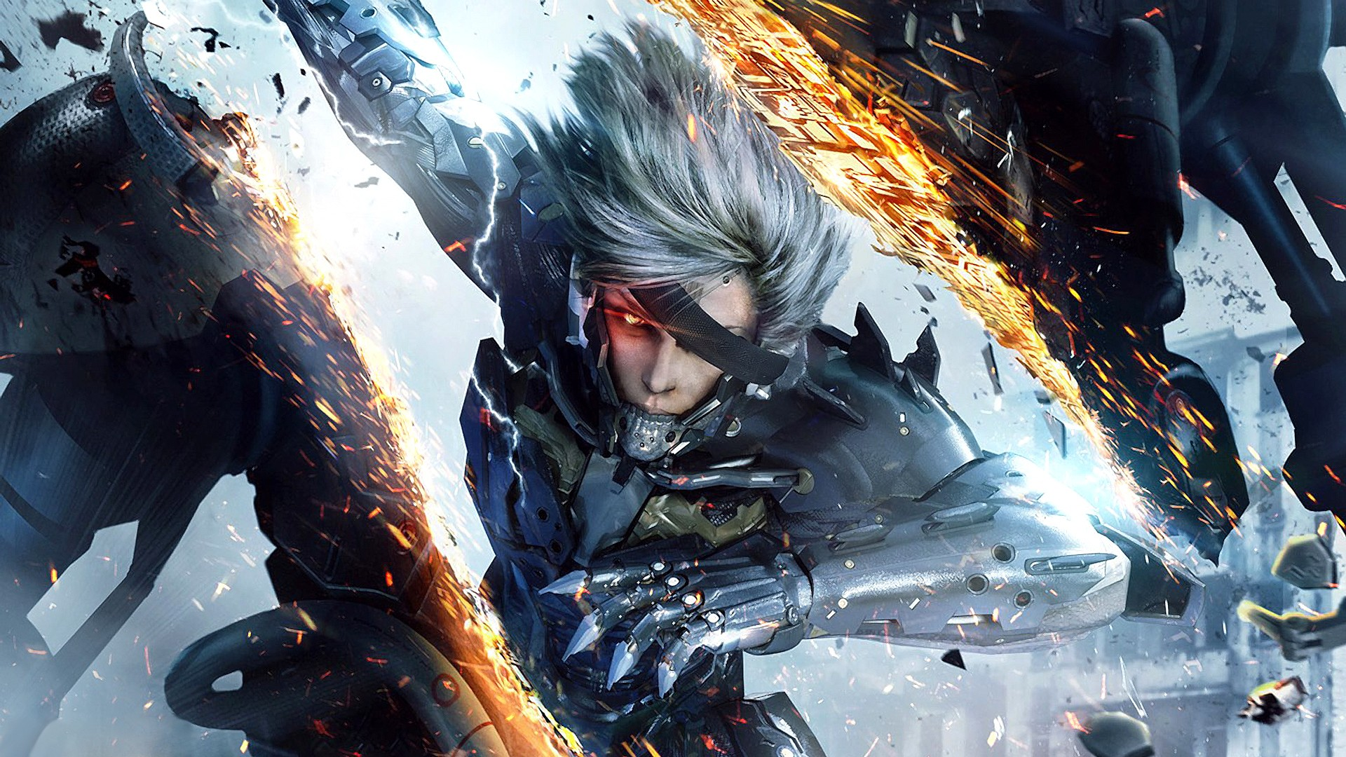 Slice! Chop! A Talking Mechanical Dog!? Metal Gear Rising: Revengeance, Baby!