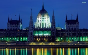Man Made - Hungarian Parliament Building Wallpapers and Backgrounds ID : 372653