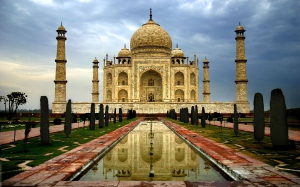 Man Made Taj Mahal Monuments Architecture India HD Wallpaper | Background Image