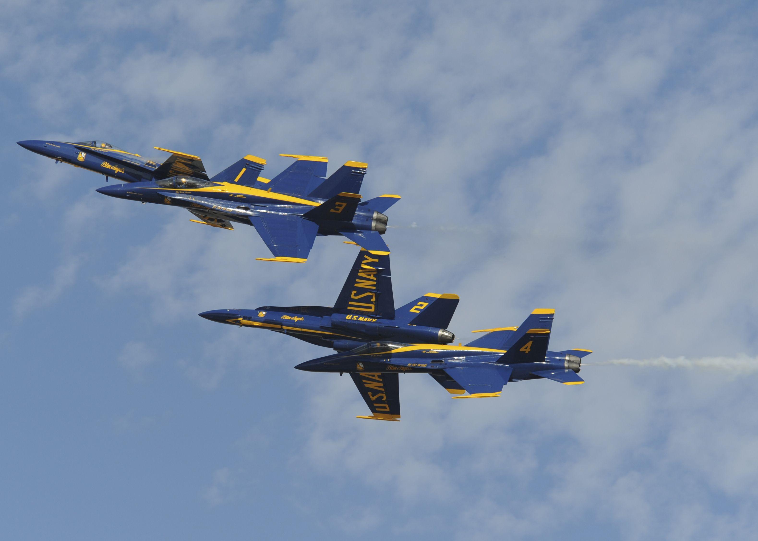 Blue Angels - Mcdonnell Douglas Fa-18 Hornet Full Hd -2841