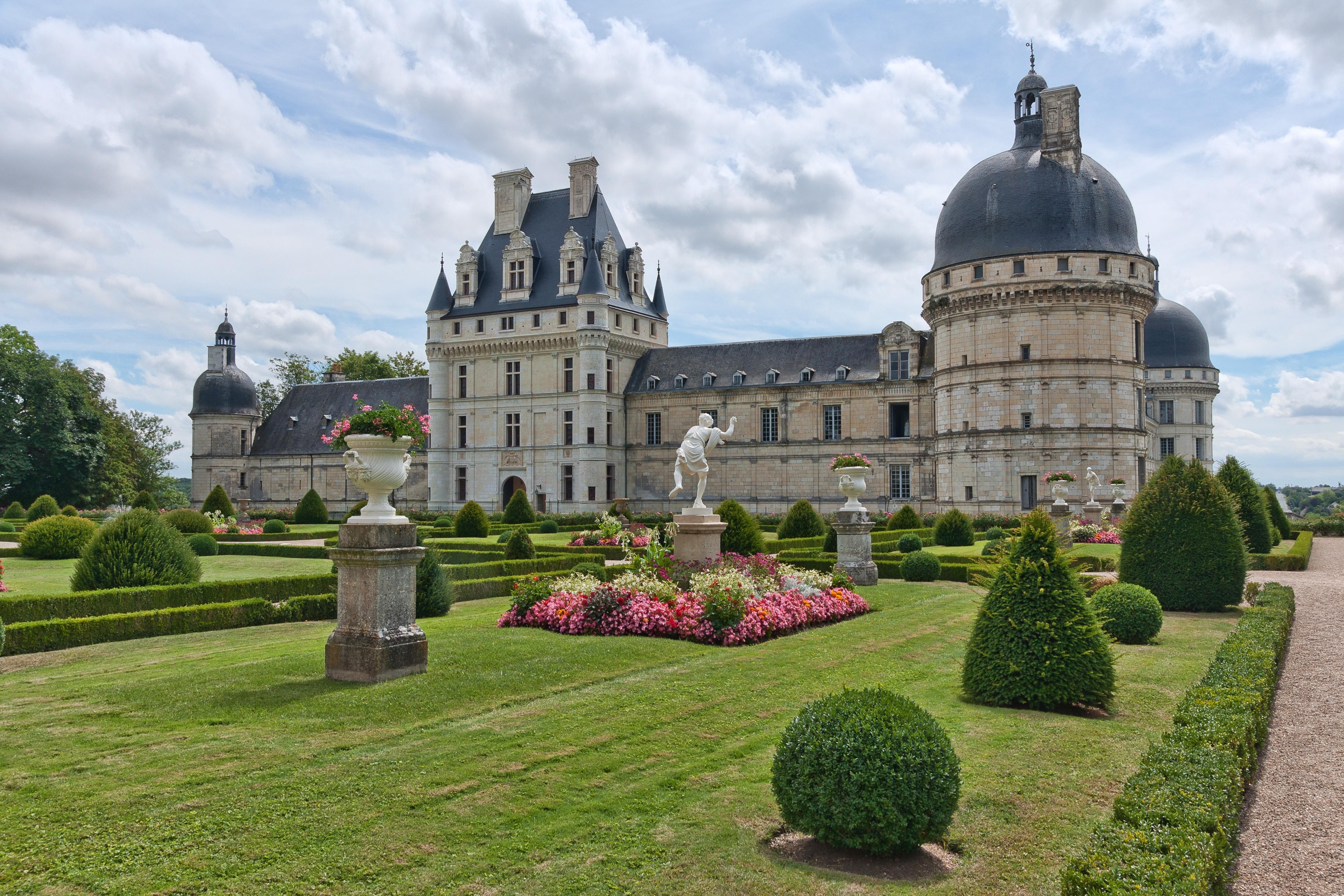 Chateau De Valencay 4k Ultra Fond D Ecran Hd Arriere Plan