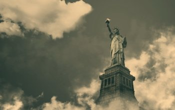 Man Made - Statue Of Liberty Wallpapers and Backgrounds ID : 374959