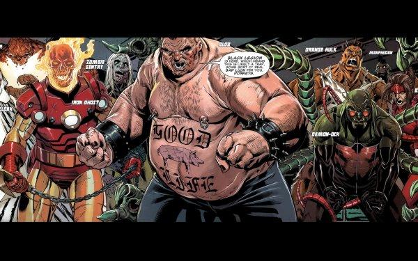 Comics Uncanny X-Men X-Men Iron Man Ghost Rider Thing Fondo de pantalla HD | Fondo de Escritorio