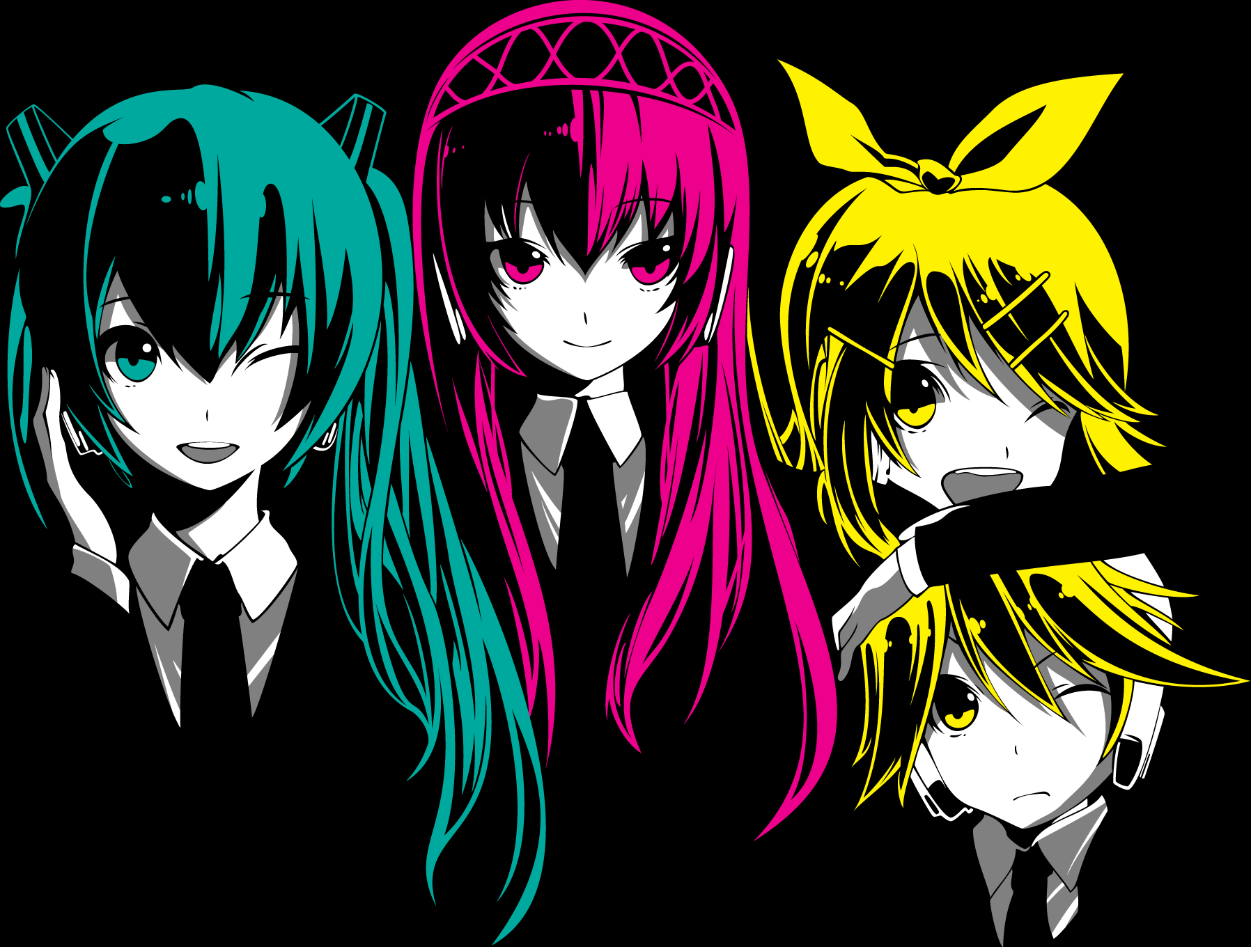Vocaloid computer wallpapers desktop backgrounds - Wallpaper computer anime ...