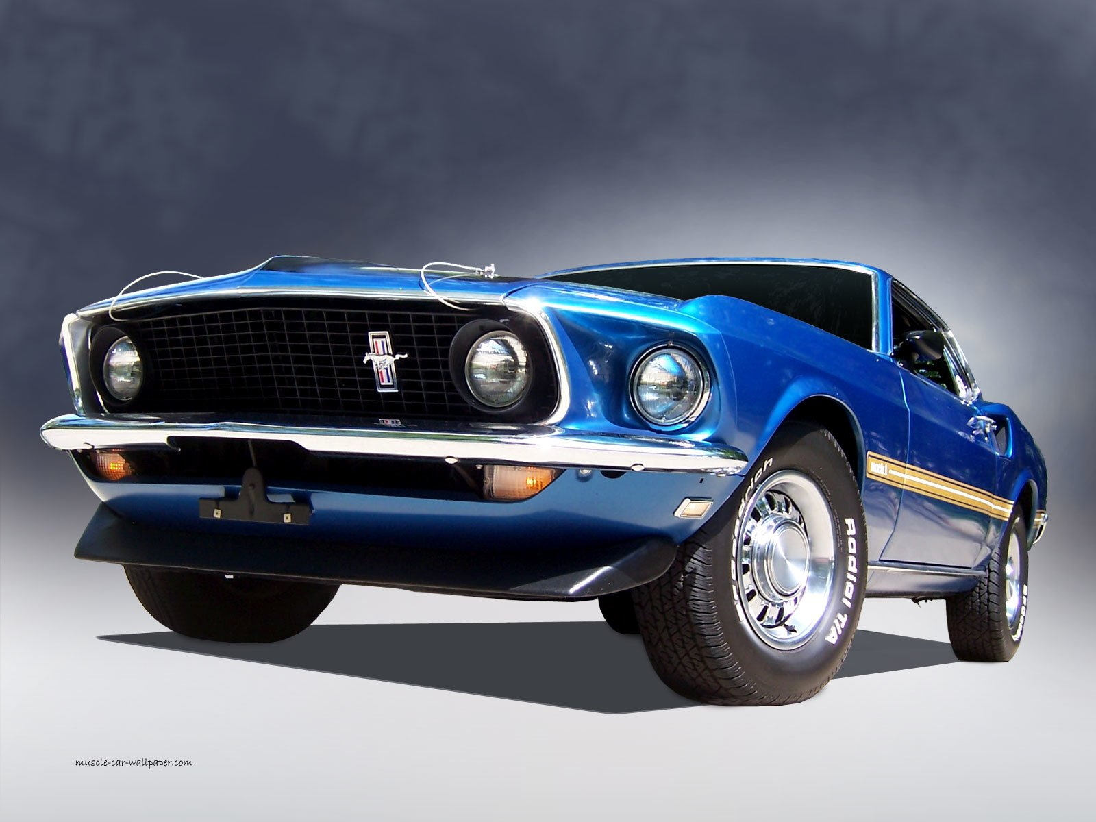 1969 Ford Mustang Mach 1 Wallpaper and Background Image ...